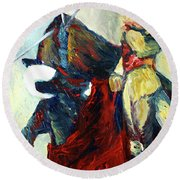 Matador Round Beach Towel