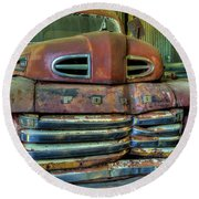 Mater From Cars Round Beach Towel