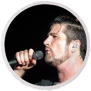 Matt Nathanson Round Beach Towel