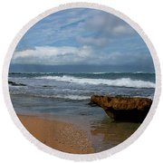 Maui Beach  Round Beach Towel by Ivete Basso Photography