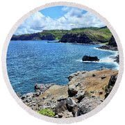 Maui North Shore Round Beach Towel