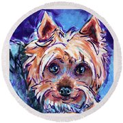 Max Round Beach Towel