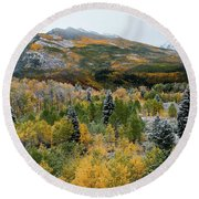 Mcclure Pass - 9606 Round Beach Towel