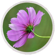 Meadow Flower Round Beach Towel