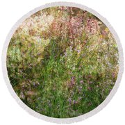 Meadow Round Beach Towel