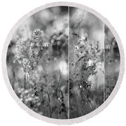 Meadowgrasses Round Beach Towel