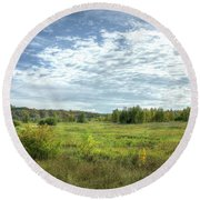 Meadowlands Round Beach Towel