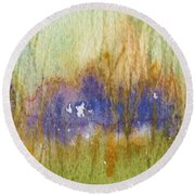 Meadow's Edge Round Beach Towel