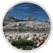 Medicine Bow Vista Round Beach Towel
