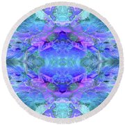 Mellifluous Mermaids Round Beach Towel by Tlynn Brentnall