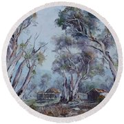 Melrose, South Australia Round Beach Towel