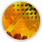 Memories Of Another Time IIi Round Beach Towel