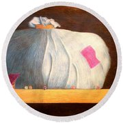 Mental Escapees Round Beach Towel by A  Robert Malcom