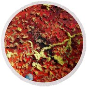 Mercury Round Beach Towel
