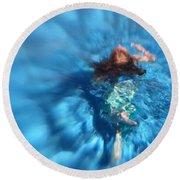 Mermaid Caroline Round Beach Towel