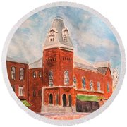 Merrimac Massachusetts Round Beach Towel