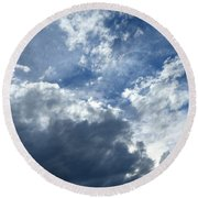 Round Beach Towel featuring the photograph Mesmerizing by Will Borden