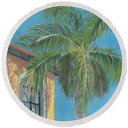 Michaels Palm Round Beach Towel
