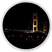 Mighty Mac At 50 Round Beach Towel