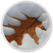 Mighty Oak Round Beach Towel
