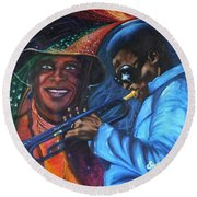 Blaa Kattproduksjoner            Miles Davis - Smiling Round Beach Towel