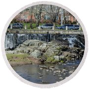 Milford Center  Round Beach Towel