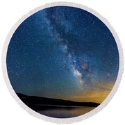 Milky Way 6 Round Beach Towel