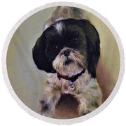 Millie Round Beach Towel