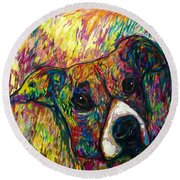 Milo Round Beach Towel