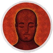 Mind Circles Round Beach Towel