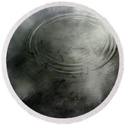 Minnow Reflection Round Beach Towel by David Pantuso