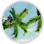 Mirada Round Beach Towel