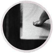 Mirror #6991 Round Beach Towel