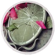 Round Beach Towel featuring the photograph Mirror, Mirror... by Amy Weiss