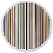 Mirror Prism Round Beach Towel by Thomas Gronowski