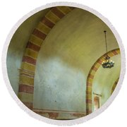 The Granary At Mission San Jose  Round Beach Towel