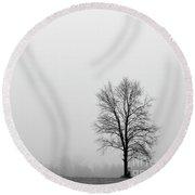 Mist And Starlight - D010282 Round Beach Towel