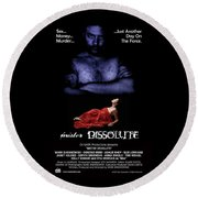Mister Dissolute Poster A Round Beach Towel
