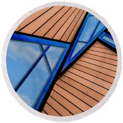 Mixed Perspective Round Beach Towel