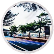 Miyajima Round Beach Towel