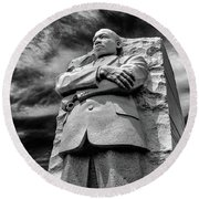 Mlk Memorial Round Beach Towel