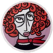 Molly Round Beach Towel