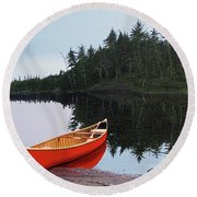 Moments Of Peace Round Beach Towel