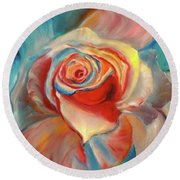 Mon Ami Round Beach Towel by Jenny Lee
