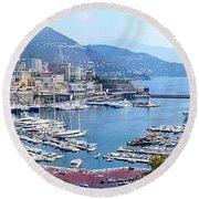 Monaco Panoramic Round Beach Towel