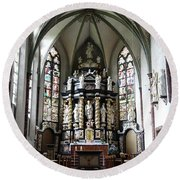 Monastery Church Oelinghausen, Germany Round Beach Towel