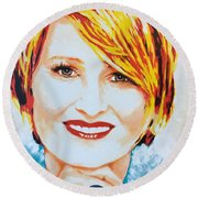 Monica Round Beach Towel