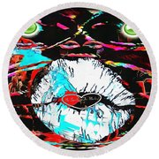 Monkey Works Round Beach Towel