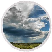 Monsoon Round Beach Towel