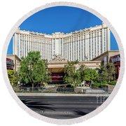 Monte Carlo Casino Las Vegas 2 To 1 Ratio Round Beach Towel